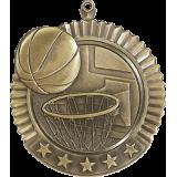 Basketball Star Medal